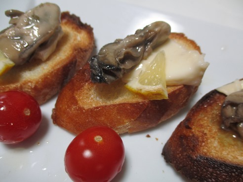 牡蠣バゲット