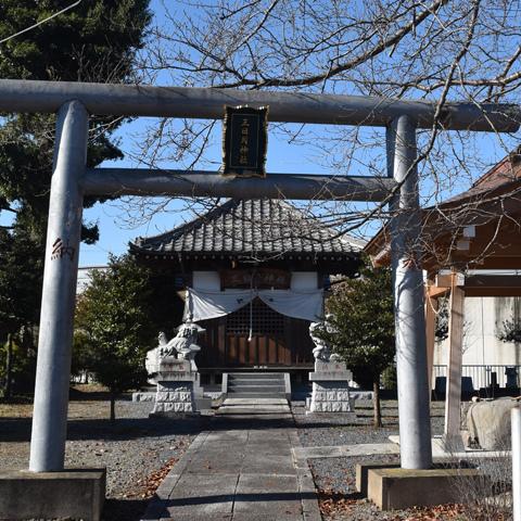 市之台の三日月神社
