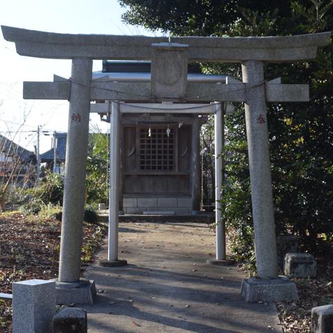 田中の三日月神社(日枝神社内)