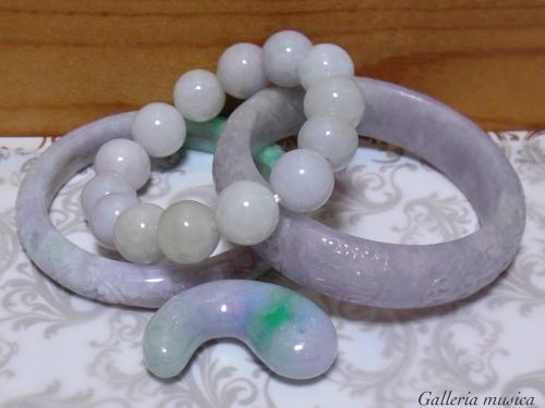 糸魚川とミャンマー、どちらも愛しいラベンダー翡翠。5