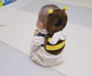 赤ちゃんの頭 ごっちん ガード