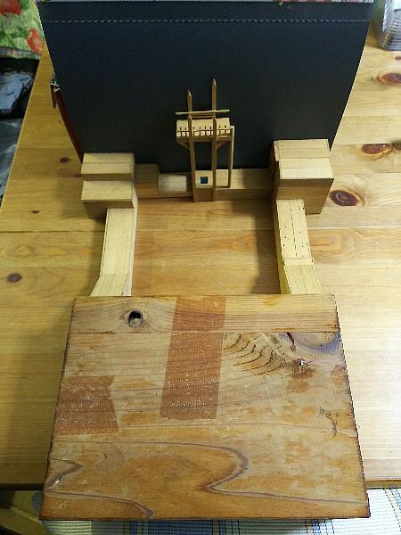 難破船のの模型