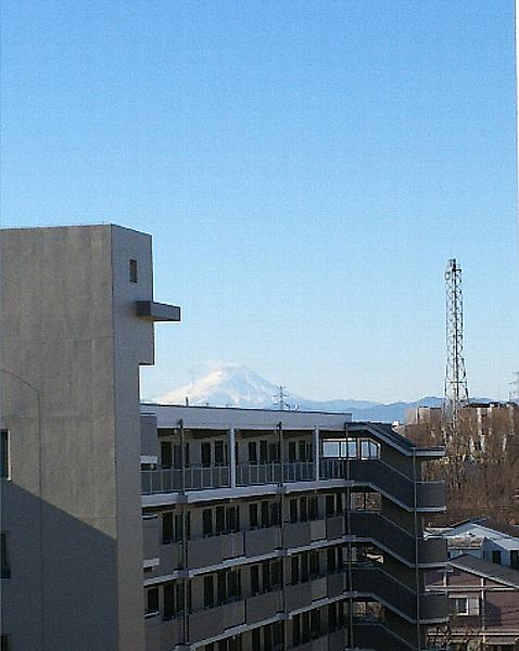 新居から見える富士