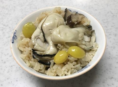 牡蠣ご飯2