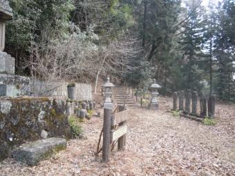浄発願寺奥の院への道180210