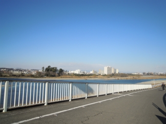 多摩川水道橋付近180212
