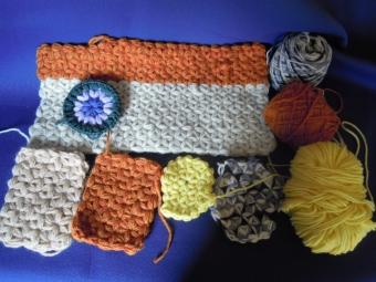 リフ編み色々180216
