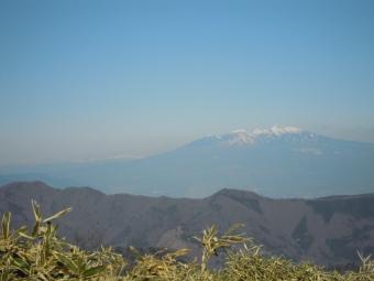 竜ヶ岳山頂から八ヶ岳方面180218