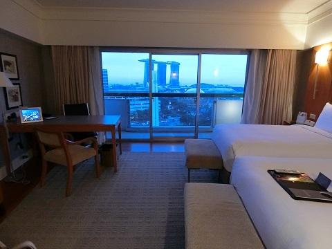 シンガポールフェアモントホテル