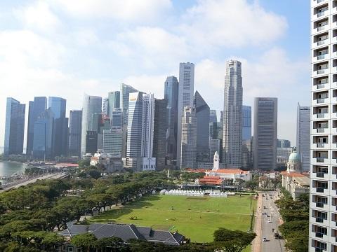 シンガポール3日目晴れ