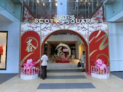 シンガポール春節1