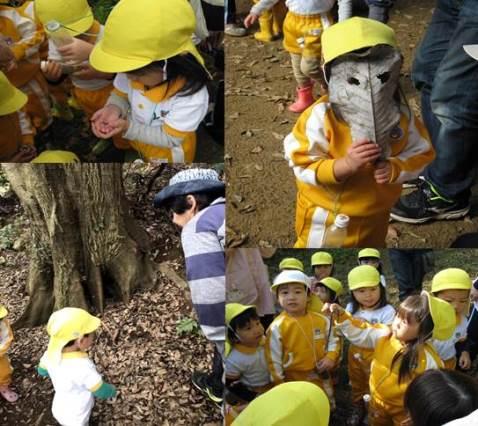 さくら木育教室・森を散策