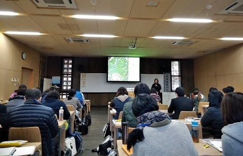 ぎふ木育教室指導者研修・あいさつ