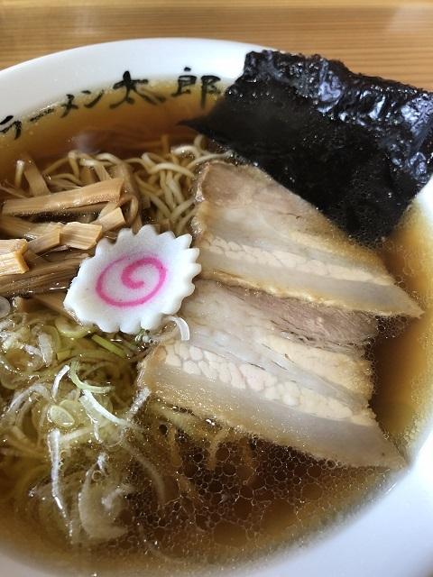 ラーメン 太郎 中華そば(細麺)