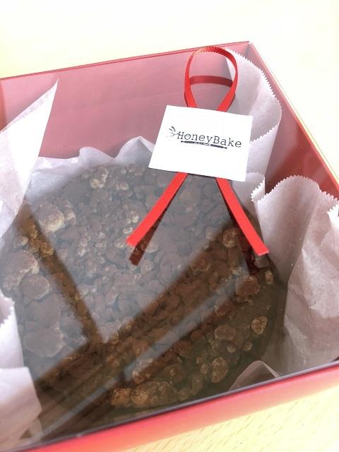 ハニーベイク チョコレートのチーズケーキ1