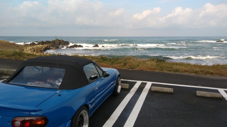 海とロードスター