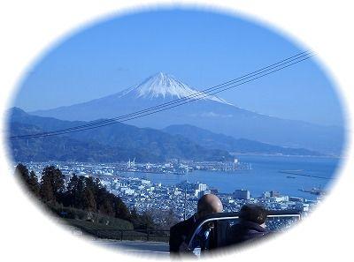 富士と下田港