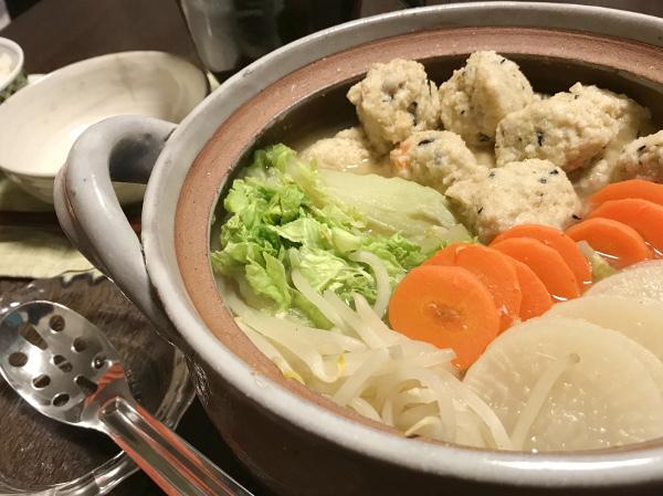 Dec20_鶏とおからの団子鍋