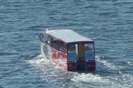 水陸両用車だ