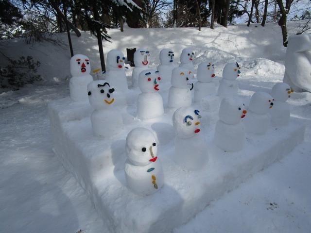 玩具野郎活動日報 2018年2月9日 雪灯篭祭2018 (3)
