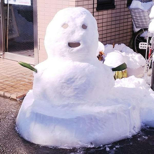 20180123雪だるまダンナ作
