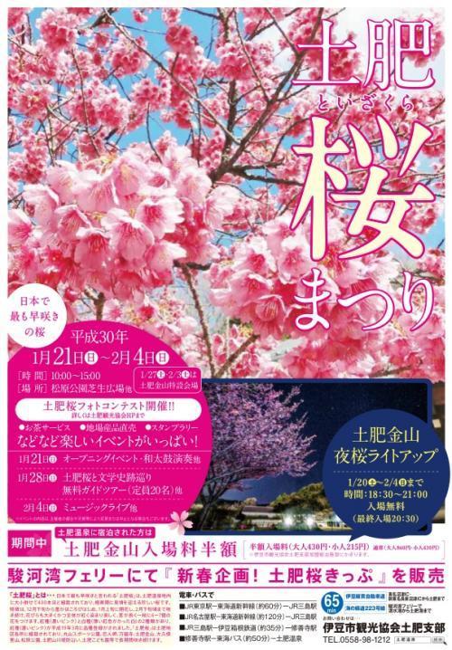 土肥桜まつり 2018