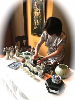 新年を寿ぐ中国茶180120_02
