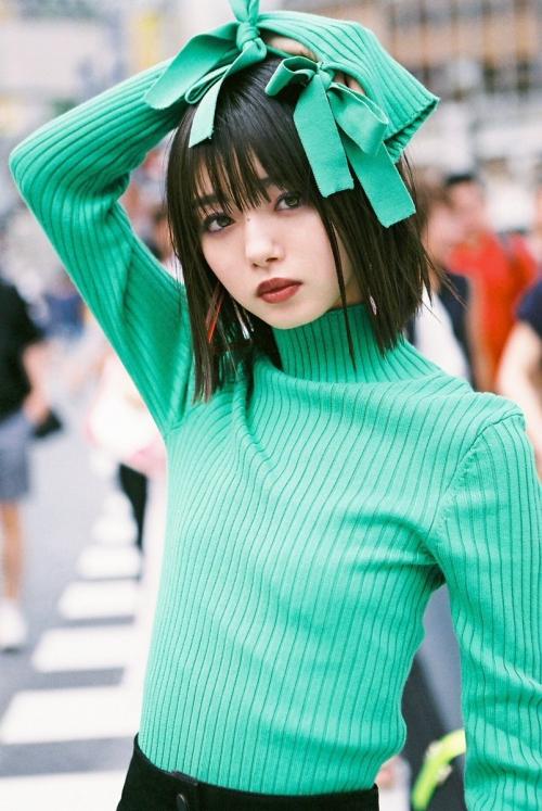 渋谷のど真ん中で撮り下ろされた市川美織がなんかすごい