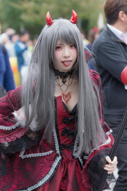 コスプレイヤーのえなこさん、日本一かわいいと話題