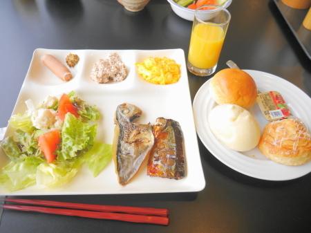 マーの朝食