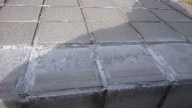 階段タイルの補修32