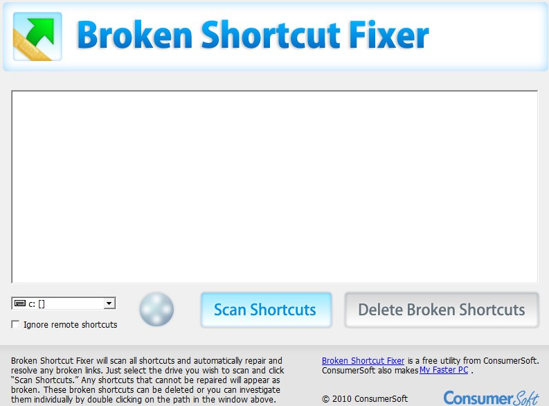 Broken Shortcut Fixer01