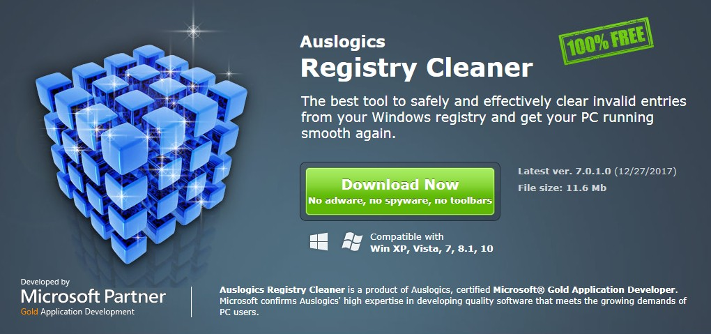 Auslogics Registry Cleaner 01