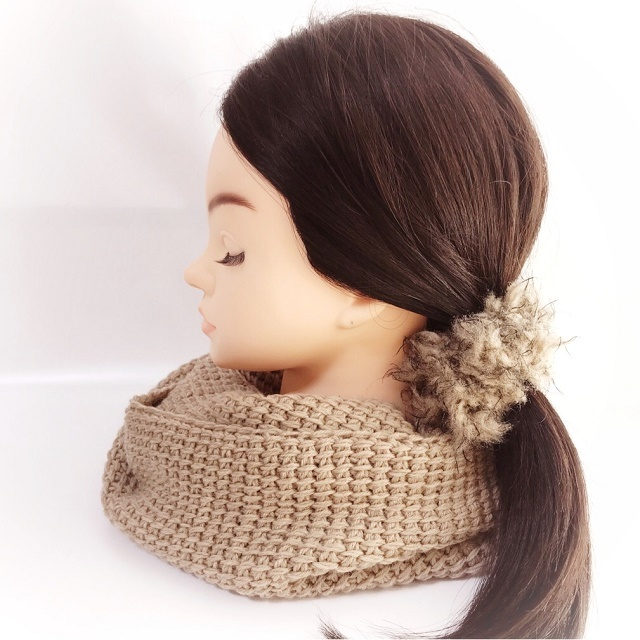 手編み雑貨 HanahanD 首元 スヌード マフラー 冬小物