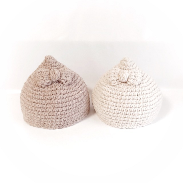 手編み雑貨 HanahanD ベビー キッズ ニット帽子