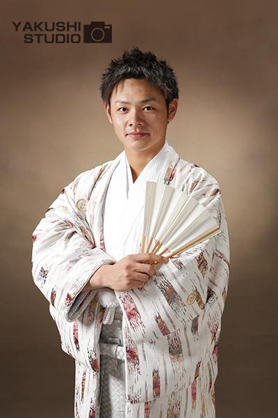 成人式男性羽織袴レンタルのお客様