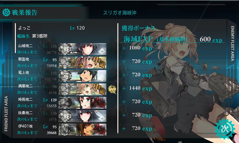 17秋E-4-2戦果