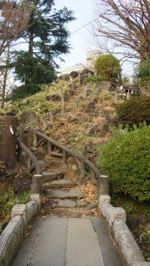 鳩の森神社・富士塚