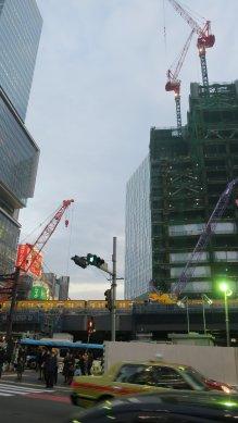再開発中の渋谷
