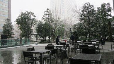 リアルな霞ヶ関の雪