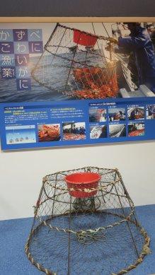 ベニズワイガニ・かご漁業