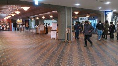国風盆栽展の入口