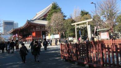 浅草寺・金堂と浅草神社