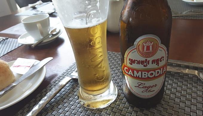 ここでもアンコールビール