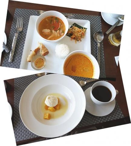 タイ料理のランチ