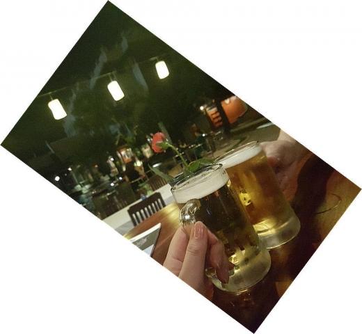 最後のビール
