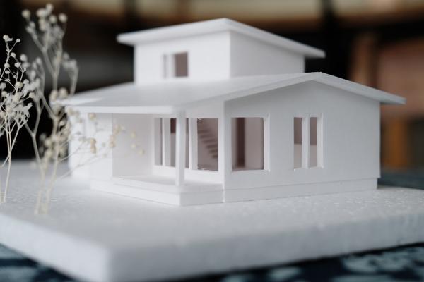 伊達の家 模型01