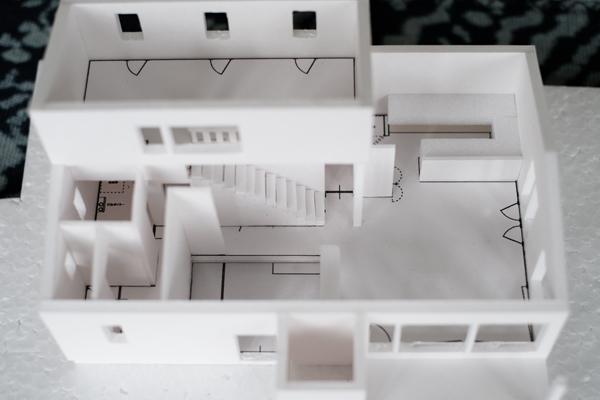 伊達の家 模型02