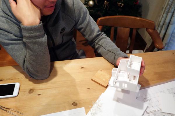 伊達の家 模型04