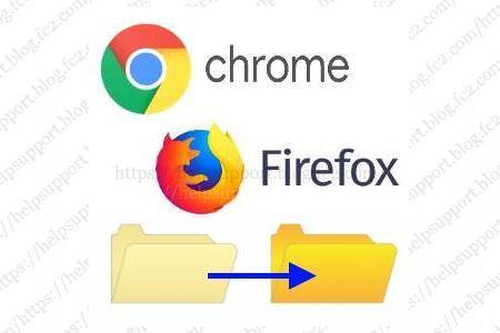 Chrome と Firefox のキャッシュ・一時ファイルの保存先の変更手順